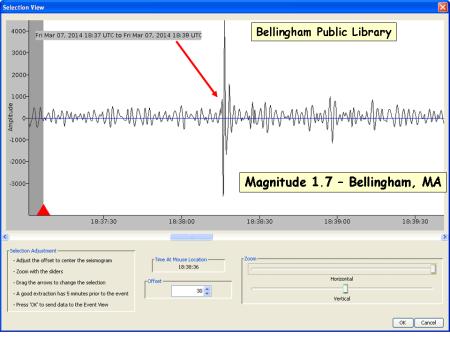 Bellingham magnitude 1.7_03072014